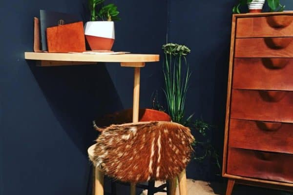 If you've not seen @tortiehoare 's beautiful hide furniture please check it out! Absolutely stunning 😍😍 She's found a way to make deer hide keep its fur, which means this wonderful materials isn't just thrown away. This young lady does all the work herself and very clever she is too! We love it.