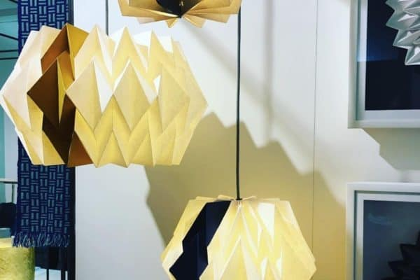Origami with a twist! Fab colours and designs.. @kate_colin_design lovely to meet you!