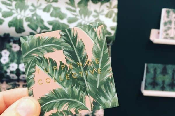 Another very talented lady... check out @tuppencecollective  some lovely patterns and design and the best business card yet!