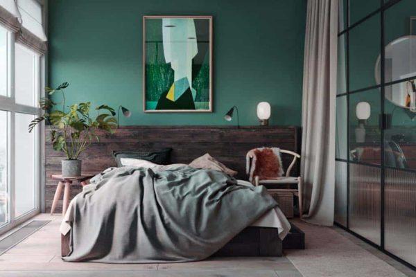 Green0bedroom