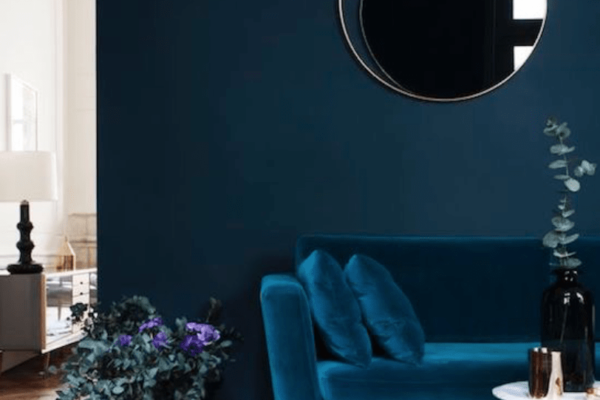 blue wall inspiration