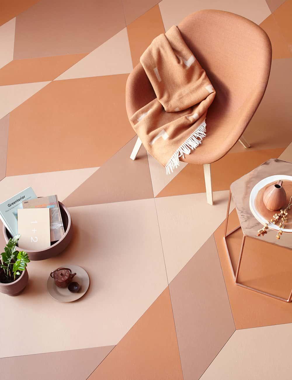 peach interiors