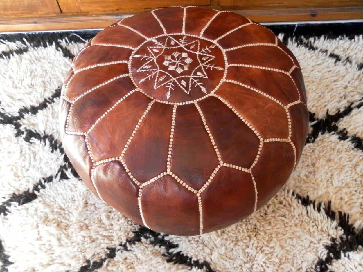 This Week's Must Have: Moroccan Pouffe