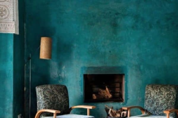 Teal was the trend for 2016 and has lasted into 2017. Is it a stayer into 2018. I think so. Just look at the beauty of that colour. 📷 Italian Bark