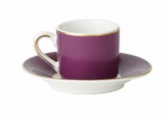 Pack of 2 Espresso Cup and Saucer, £8