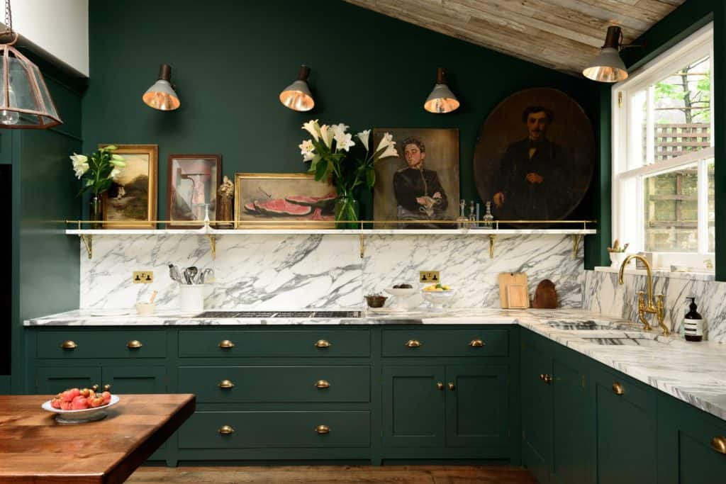 Green Kitchen Inspiration