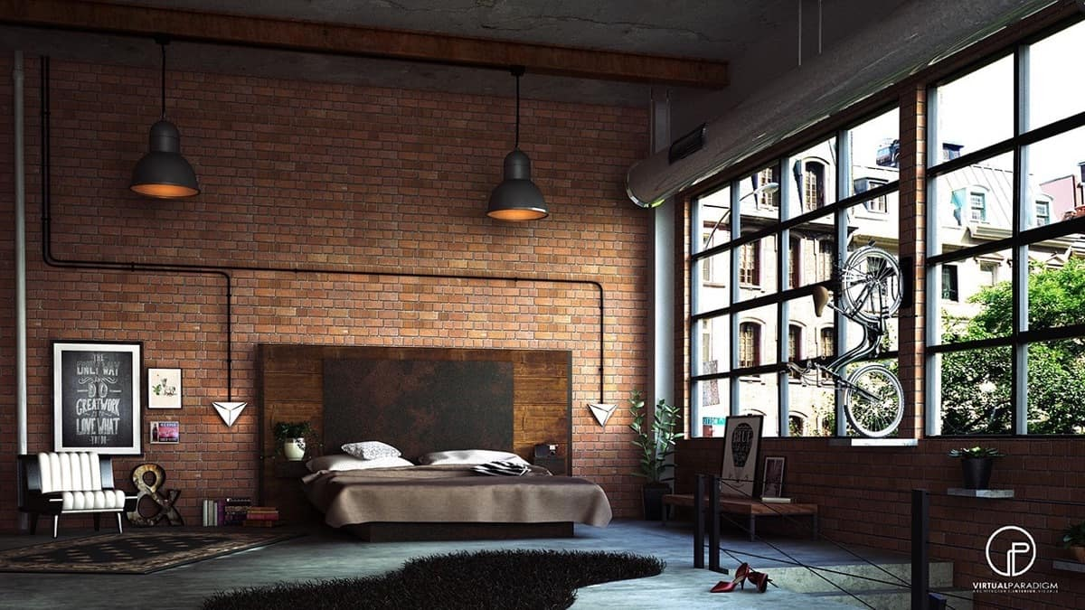Inspiration: Exposed Brick Interiors