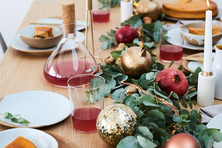 Inspiration: Christmas Table Dressings