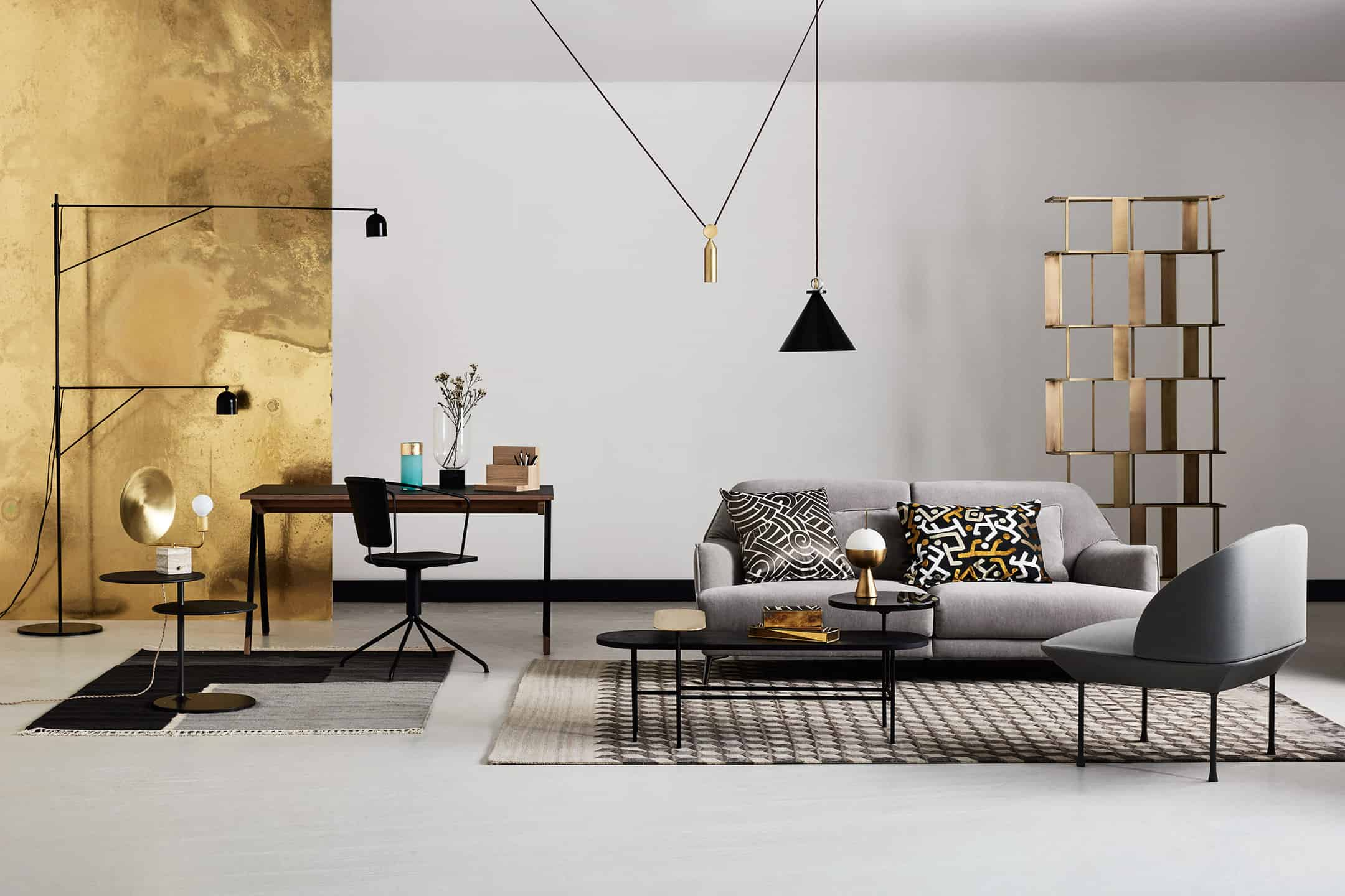 Go for Gold Luxe Interiors