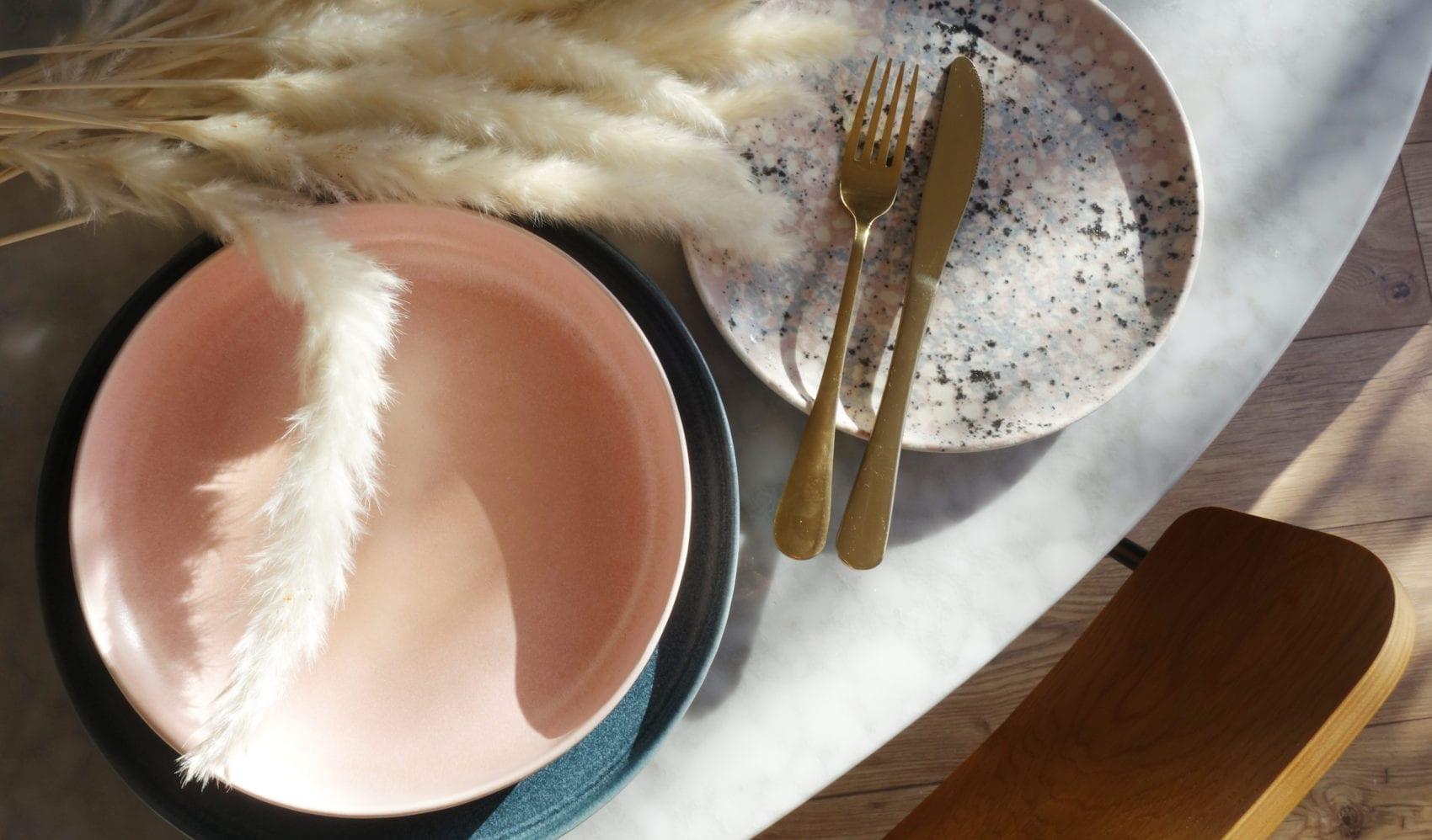 tableware crockery plates cutlery