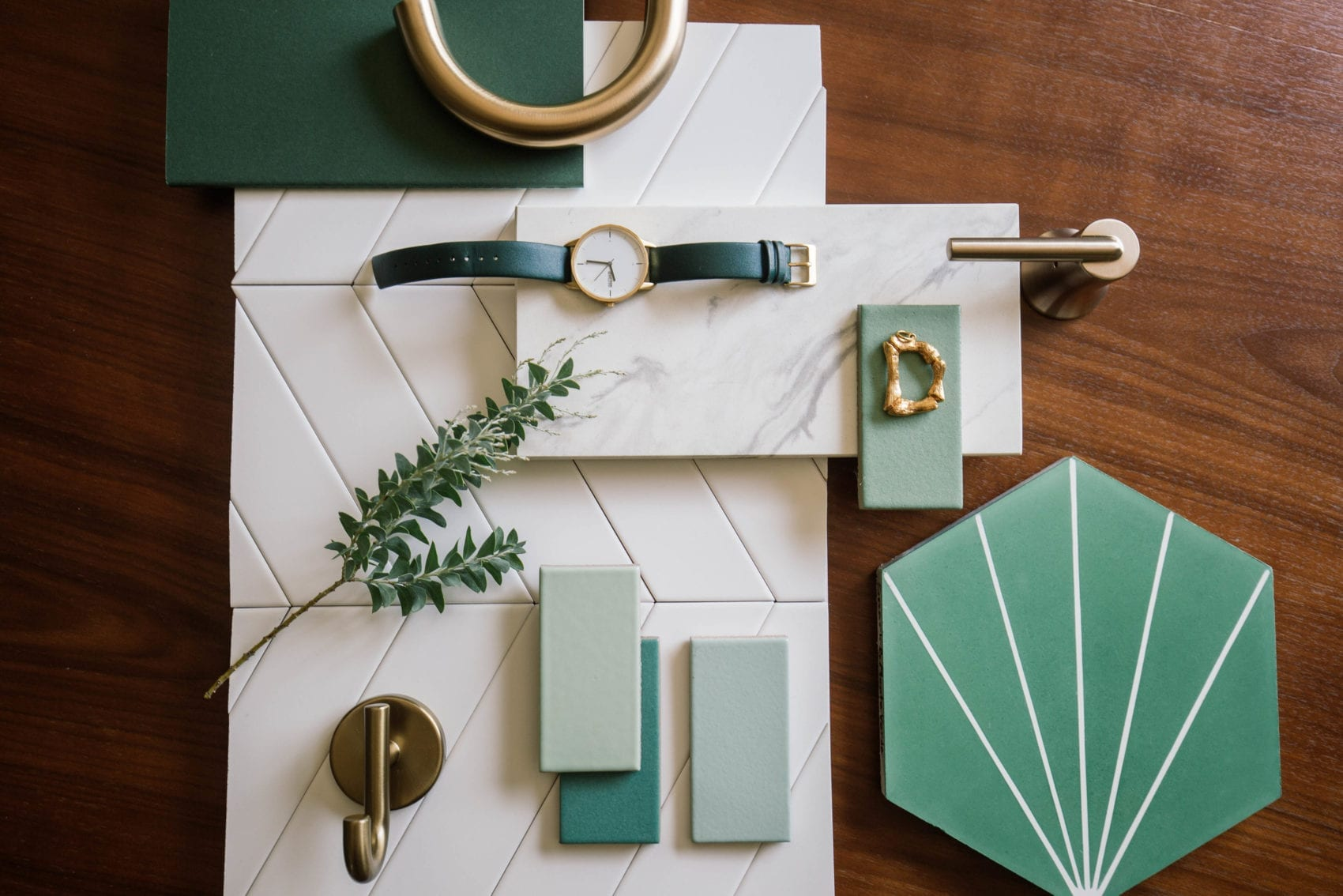 mint mood board