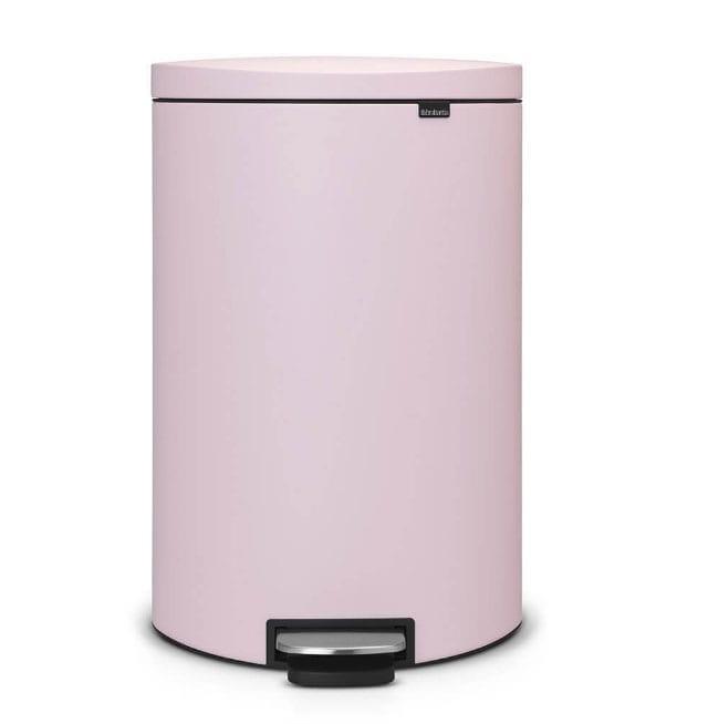 large pink bin