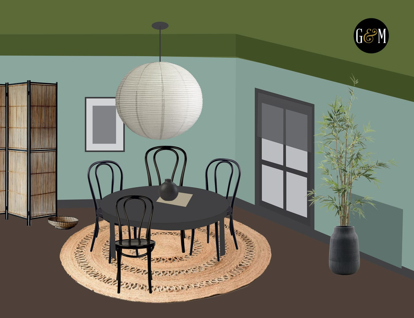 Japandi Lounge Diner Makeover Project